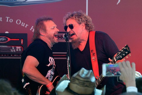 Sammy Says scheduling will determine whether Chickenfoot or The Circle record will be next