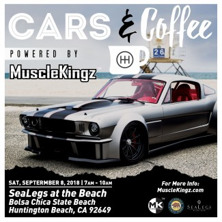 Sammy Hagar's High Tide Beach Party Presents Cars & Coffee Huntington Beach Sept.8th