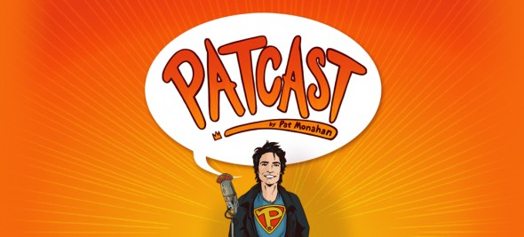 Sammy featured in Pat Monahan's Patcast!!