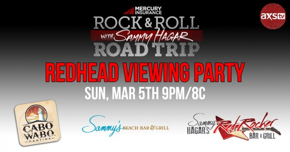 Rock & Roll Road Trip VIEWING PARTY ALERT