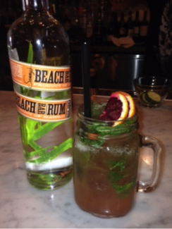 RED ROCKIN' BLOOD ORANGE MOJITO