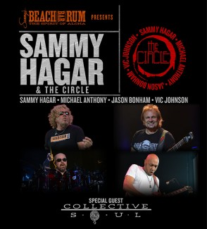 SAMMY HAGAR & THE CIRCLE FALL TOUR WITH GUEST COLLECTIVE SOUL