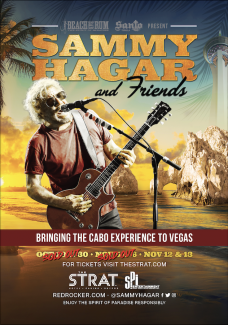 SAMMY ANNOUNCES TWO NEW VEGAS RESIDENCY DATES AT THE STRAT