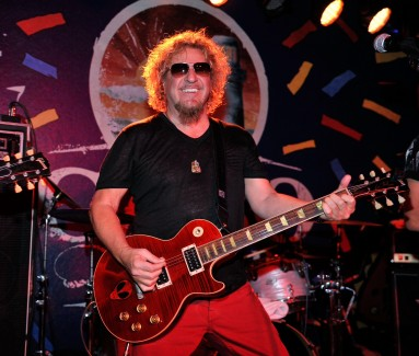 Sammy Hagar Rocks the Final Night of Cabo Wabo Cantina's Third Anniversary Celebration with Free Performance