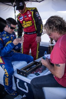 NASCAR, Poker, and Congrats Martin Truex Jr