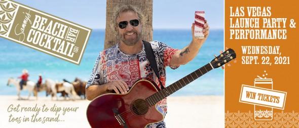 Sammy's Beach Bar Cocktail Co. Launch - Signed Guitar, Las Vegas Performance + MORE!