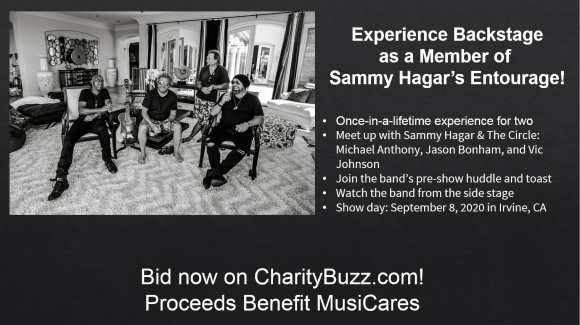 Bid on A Backstage Experience with Sammy & The Circle!