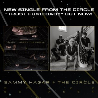 "Listen to the first single ""Trust Fund Baby"" from the new Circle album Space Between"