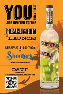 SAMMY'S BEACH BAR RUM OHIO LAUNCH PARTY! - JUNE 29