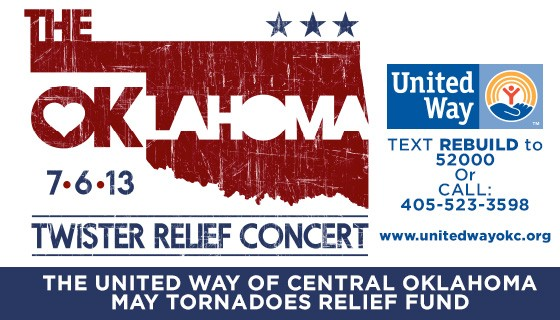 Oklahoma Twister Relief Concert