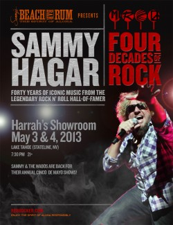 2013-05-04 @ Four Decades of Rock @ Harrah's Lake Tahoe - South Shore Room - Night #2