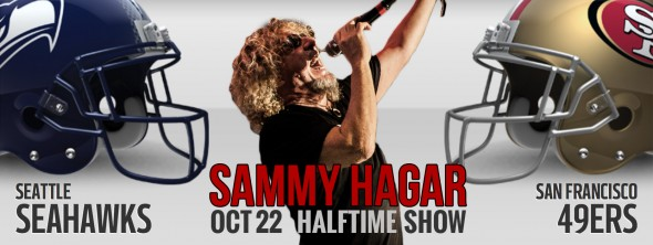 2015-10-22 @ Halftime Performance - 49ers vs. Seahawks Football Game @ Levi's Stadium