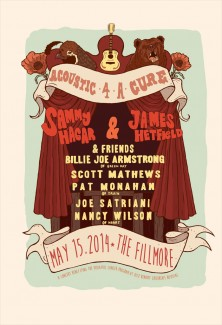 2014-05-15 @ Acoustic-4-A-Cure Benefit Concert at The Fillmore