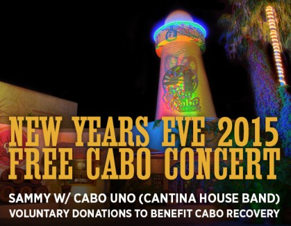 2014-12-31 @ FREE New Years Eve Concert at the Cabo Wabo Cantina in Cabo
