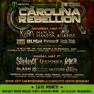 2015-05-02 @ Carolina Rebellion Festival