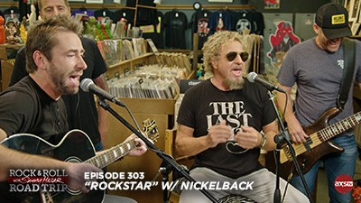 2018-04-22 @ Rock & Roll Road Trip with Sammy Hagar - Episode 303 (Rockstar)