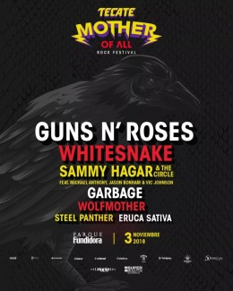 2018-11-03 @ Tecate Mother of All Festival