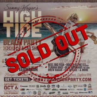 2018-10-06 @ Sammy Hagar's High Tide Beach Party & Car Show