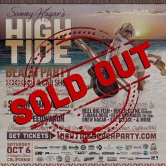 2018-10-06 @ Sammy Hagar's High Tide Beach Party & Car Show
