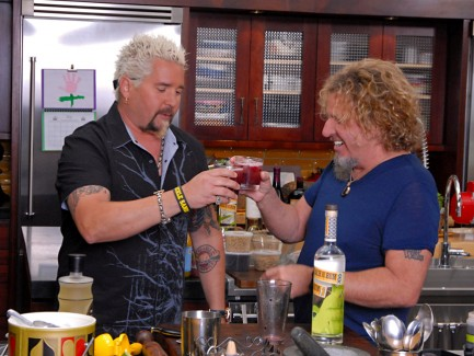 2012-05-20 @ Guy's Big Bite (Guy Fieri's Food Network TV Show)