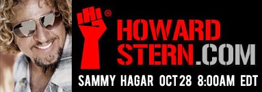 2013-10-28 @ The Howard Stern Show