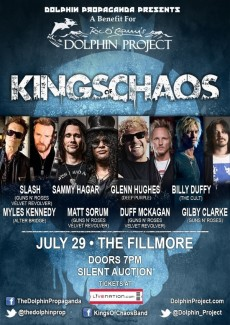 2015-07-29 @ Kings of Chaos (Dolphin Project Benefit Concert)