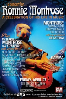 2012-04-27 @ A Concert For Ronnie Montrose - A Celebration of His Life in Music @ Regency Ballroom