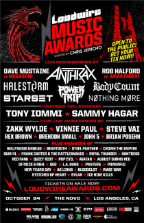 2017-10-24 @ The Loudwire Music Awards  @ The Novo Theater