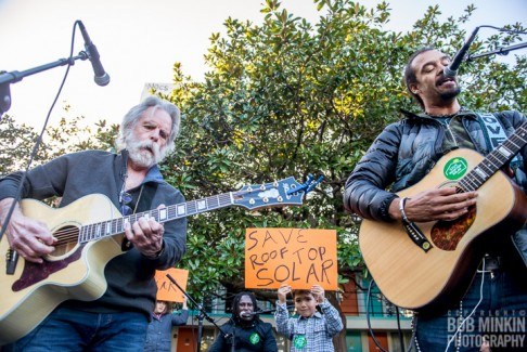 2016-01-24 @ Rock the Sun Acoustic Set with Bob Weir, Michael Franti and Sammy Hagar