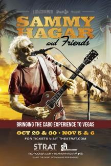 2021-10-29 @ The STRAT - Sammy Hagar & Friends Residency