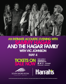 2018-05-04 @ Sammy Hagar & The Hagar Family @ Harrahs South Shore Room