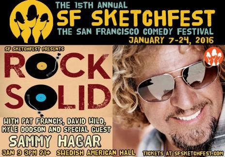 2016-01-09 @ Rock Solid @ SF Sketchfest