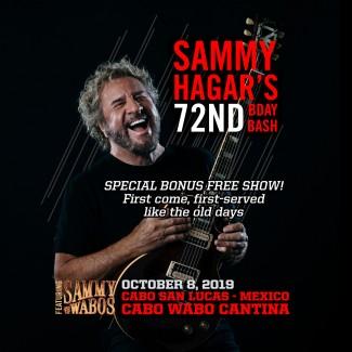 2019-10-08 @ Cabo Wabo Cantina - Birthday Bash FREE SHOW