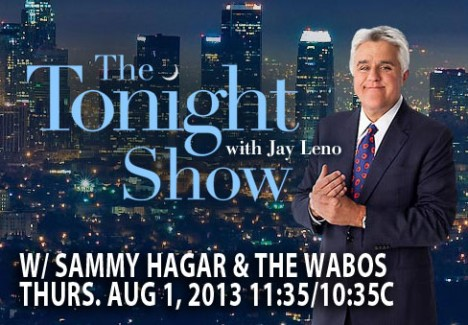 2013-08-01 @ The Tonight Show With Jay Leno