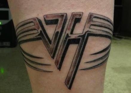 My vh tattoo sammy hagar the red rocker for Tattoo van halen