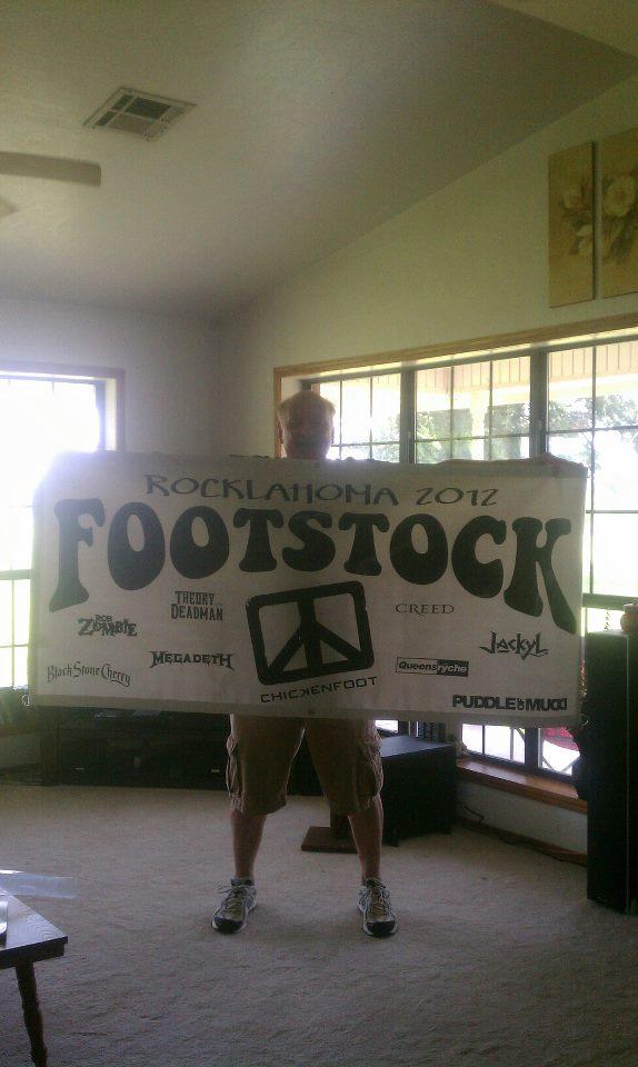 Footstock Banner Sammy Hagar The Red Rocker