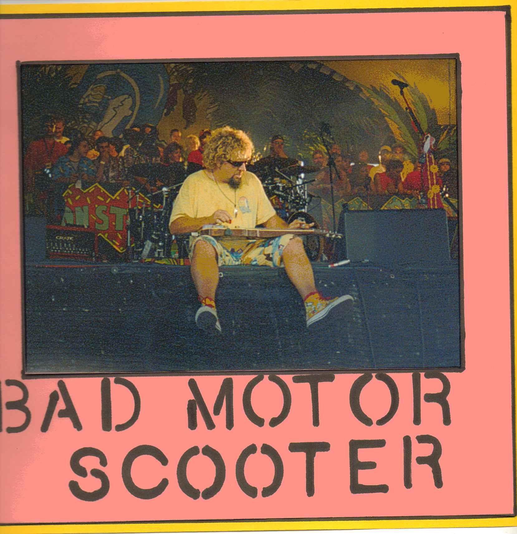 bad motor scooter sammy hagar the red rocker. Black Bedroom Furniture Sets. Home Design Ideas