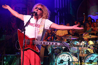 hdnet concert broadcast sammy hagar the red rocker. Black Bedroom Furniture Sets. Home Design Ideas