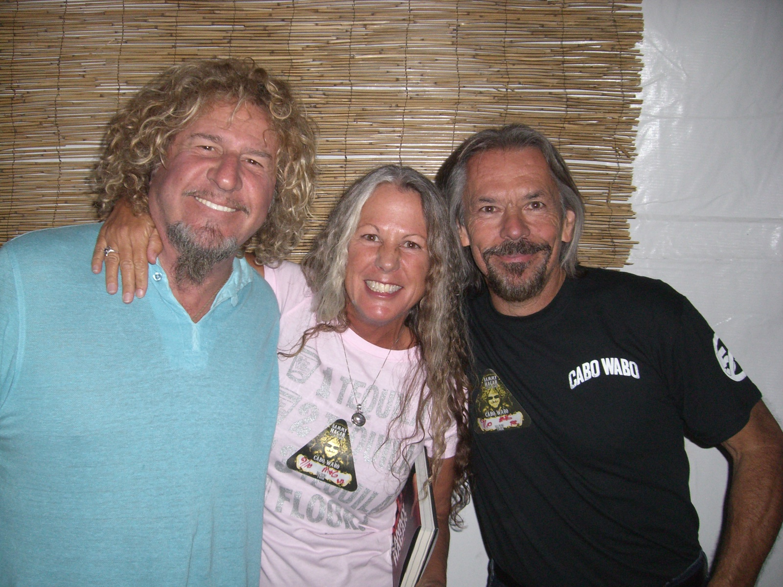 Meet greet winner kathy joy desoto gonsales sammy hagar the meet greet winner kathy joy desoto gonsales kristyandbryce Choice Image