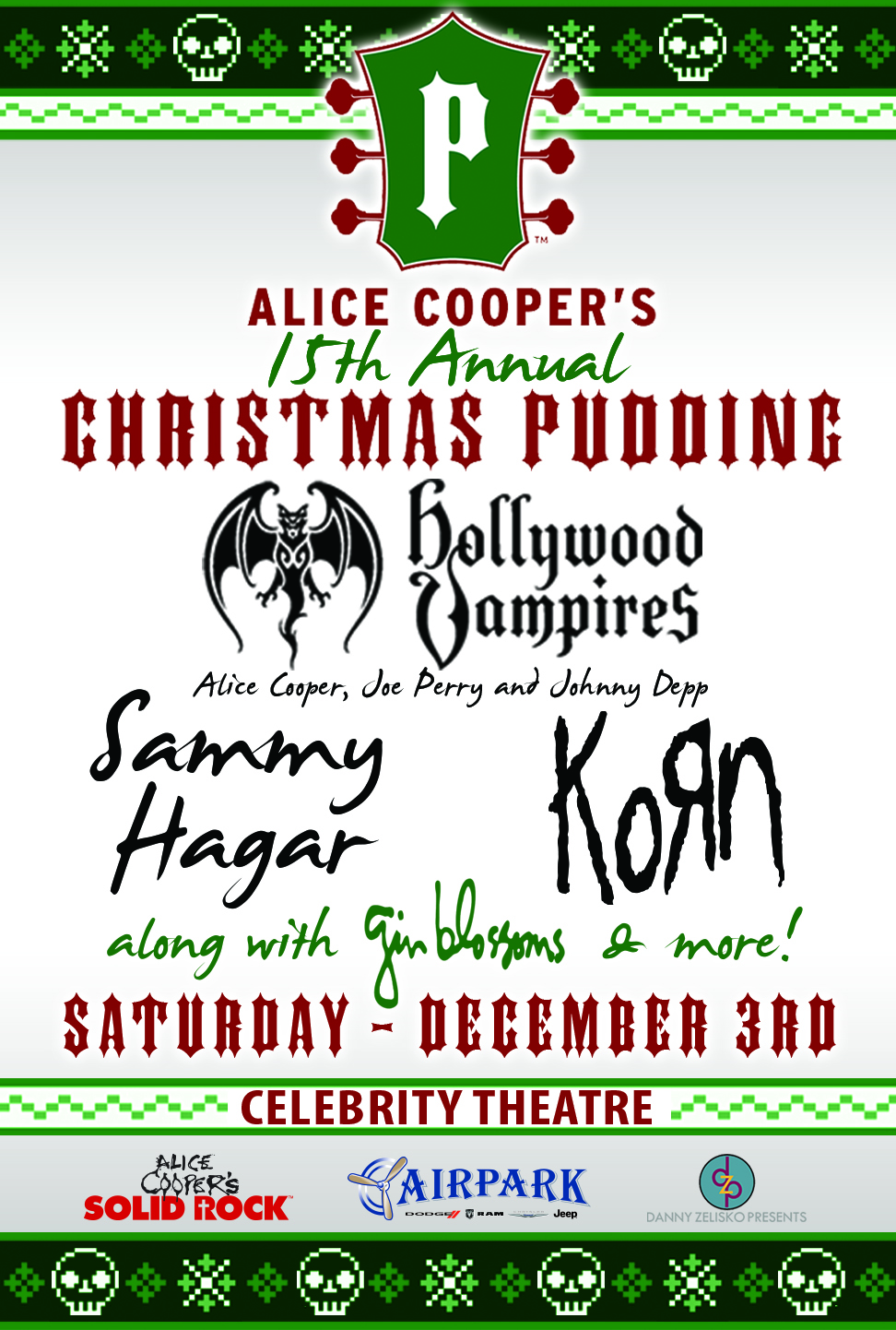alice cooper christmas pudding 2013 meet and greet