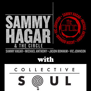 sammy hagar and the circle opening act