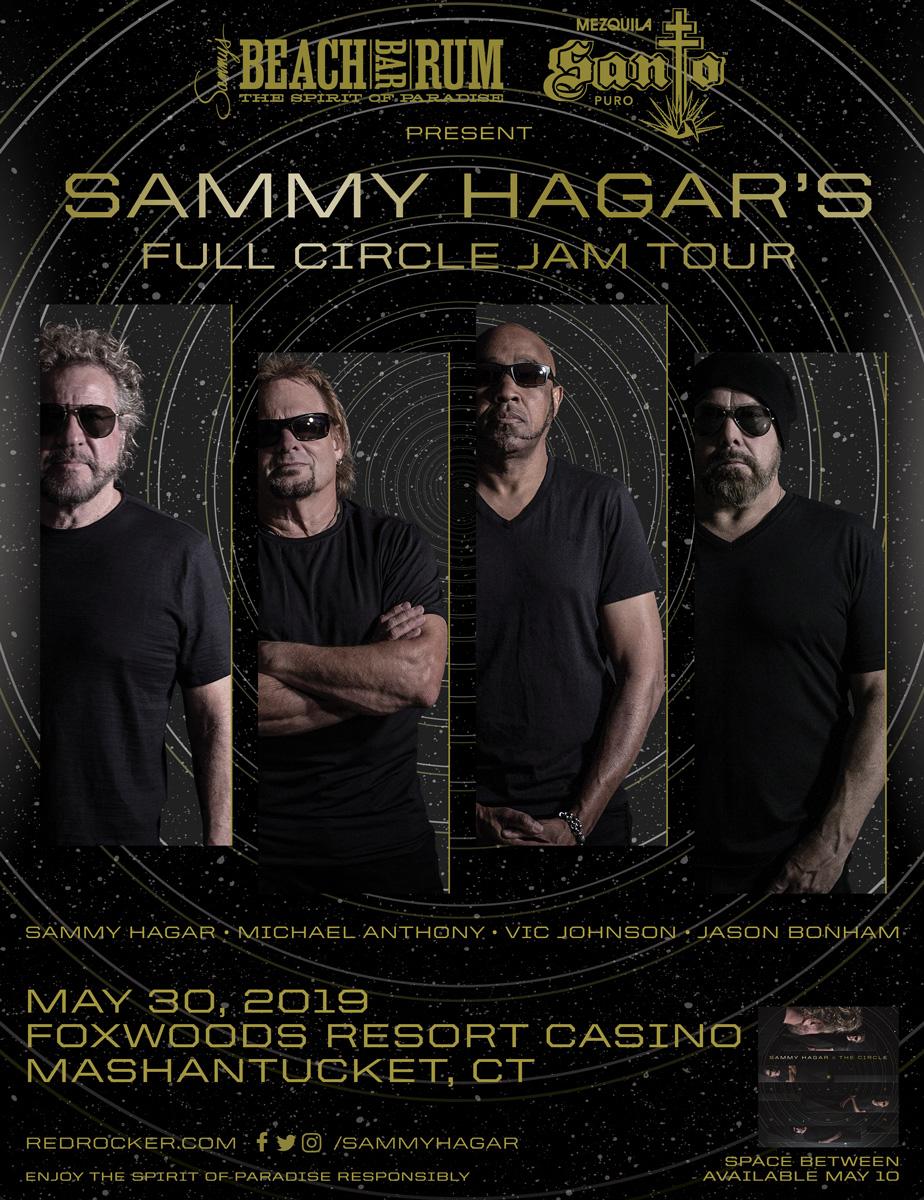 2019-05-30 @ Foxwoods Resort Casino - Grand Ballroom   Sammy Hagar