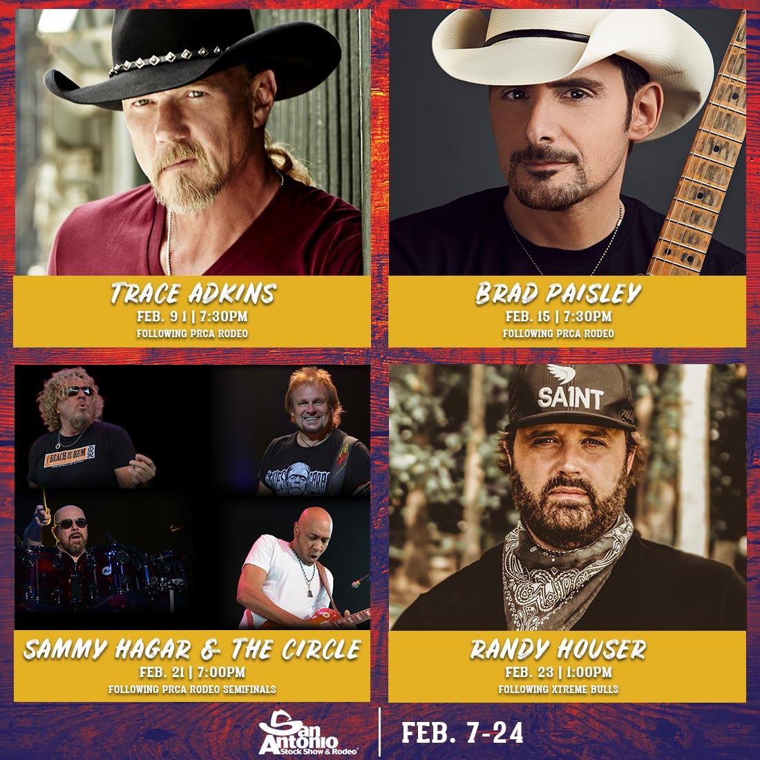 2019 02 21 San Antonio Stock Show Amp Rodeo Sammy Hagar